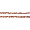 Cut 13/0 Terra Seedbead Metallic Light Copper